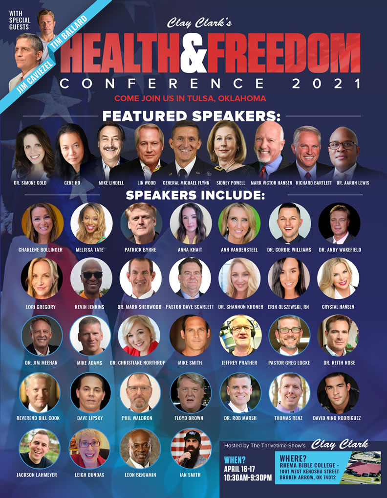 The 2021 Health and Freedom Conference General Micheal Flynn Virginians for America First